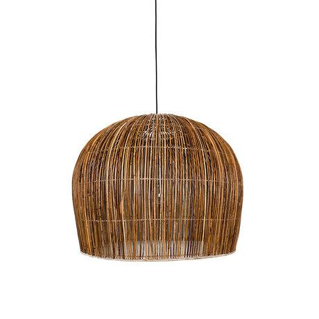 Ay Illuminate Hanglamp Rattan Bell large bruin rotan Ø85x85cm