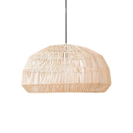 Ay Illuminate Hanglamp Nama 1 naturel rotan Ø73x38cm