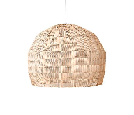 Ay Illuminate Hanglamp Nama 3 naturel rotan Ø77x58cm