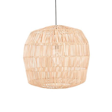 Ay Illuminate Hanglamp Nama 4 naturel rotan Ø72X64cm