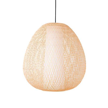 Ay Illuminate Hanglamp Twiggy Egg naturel bamboe Ø60x70cm