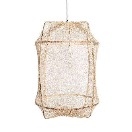 Ay Illuminate Hanglamp Z1 naturel bamboe sisal Ø67x96cm