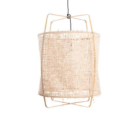 Ay Illuminate Hanglamp Z2 naturel bamboe papier Ø67x96cm