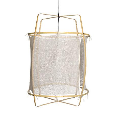 Ay Illuminate Hanglamp Z2 wit bamboe zijde Ø67X96cm