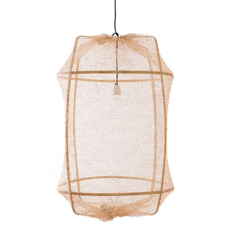 Ay Illuminate Hanglamp Z2 naturel bamboe sisal Ø67x96cm