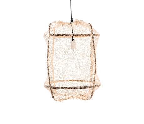 Ay Illuminate Hanglamp Z5 naturel bamboe sisal Ø41x56cm