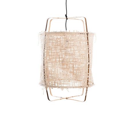 Ay Illuminate Hanglamp Z11 naturel bamboe papier Ø48x72,5cm
