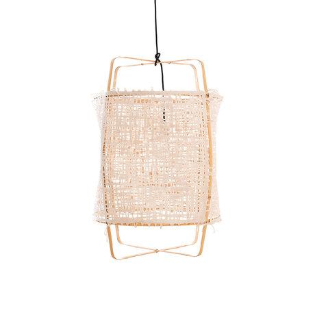 Ay Illuminate Hanglamp Z22 naturel bamboe papier Ø48x72,5cm