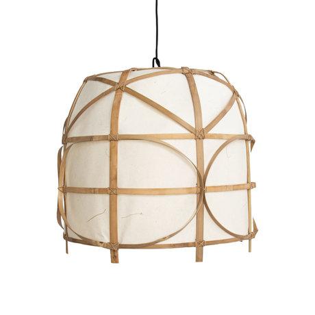 Ay Illuminate Hanglamp Bagobo R large naturel bamboe Ø59x53cm