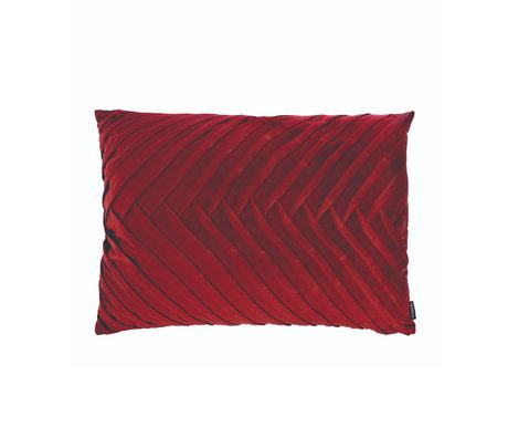 Riverdale Coussin Elja polyester rouge bordeaux 50x70x23cm