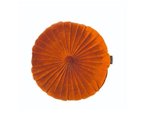 Riverdale Kissen Emmy orange braunes Polyester 40x40x12cm