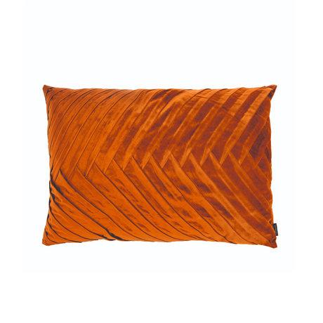 Riverdale Coussin Elja polyester orange marron 50x70x23cm