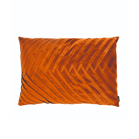 Riverdale Sierkussen Elja oranje bruin polyester 50x70x23cm