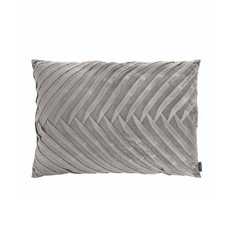 Riverdale Sierkussen Elja licht grijs polyester 50x70x23cm