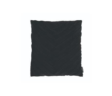 Riverdale Sierkussen Eve zwart polyester 45x45x19cm