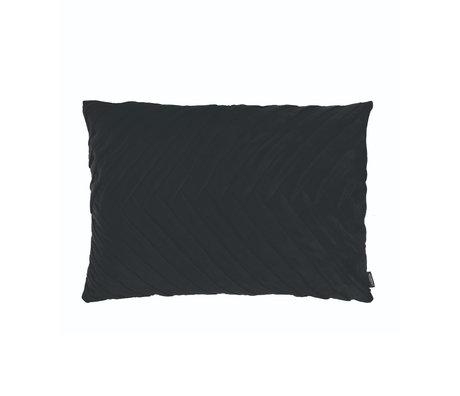 Riverdale Coussin Elja polyester noir 50x70x23cm