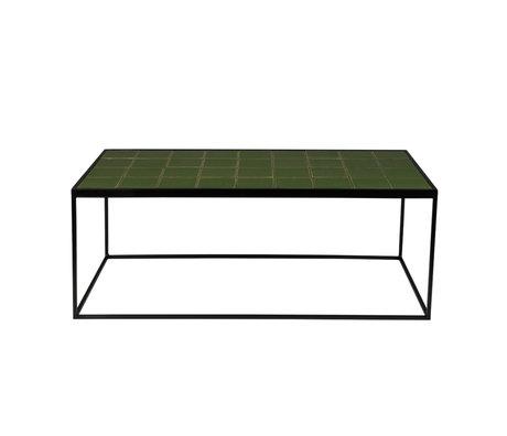Zuiver Table basse Vitrée verte 93x43x36cm