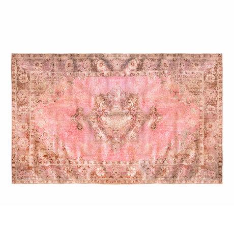 Riverdale Vloerkleed Moon roze textiel 200x290x1cm