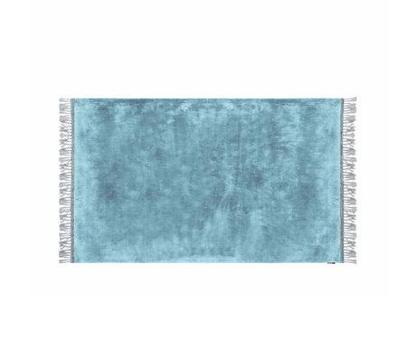 Riverdale Vloerkleed Carter blauw textiel 160x230x1cm