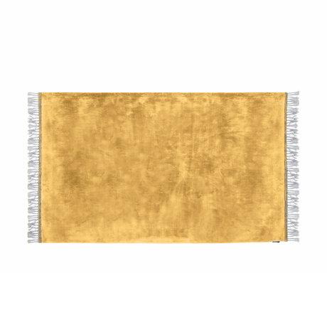 Riverdale Vloerkleed Carter oker geel textiel 160x230x1cm