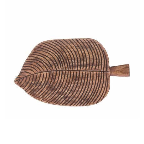 Riverdale Dienblad Fre naturel bruin hout 30x18x2cm