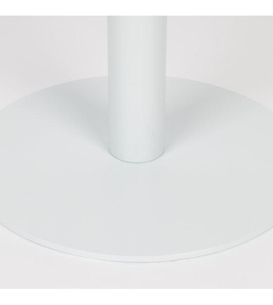 Bistrotafel Metsu (tuin) wit gepoedercoat metaal Ø70x76cm