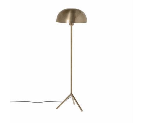 Riverdale Vloerlamp Fre goud ijzer 39x39x148cm