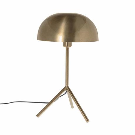 Riverdale Tafellamp Fre goud ijzer  31x31x51,5cm