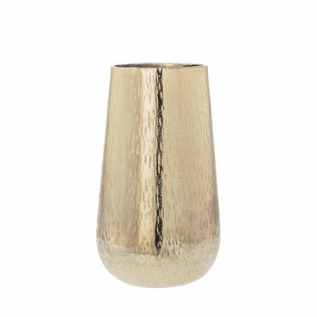 Riverdale Vaas Amy goud aluminium 16x16x29cm