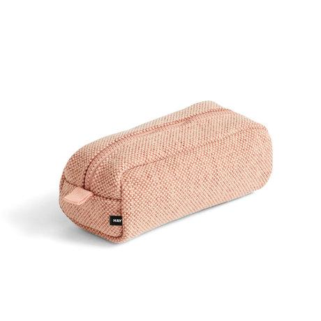 HAY Make-up tas Hue lichtroze textiel 20x9x8cm