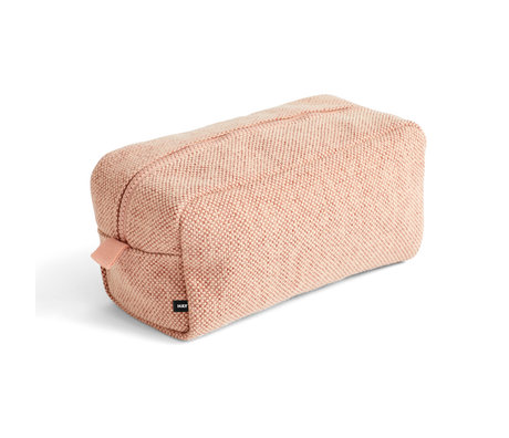 HAY Toilettas Hue roze textiel 23x13x11cm