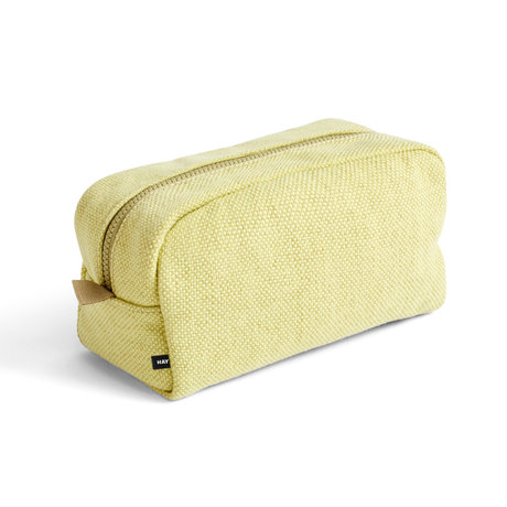 HAY Toilettas Hue geel textiel 23x13x11cm