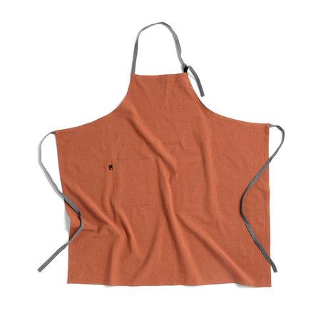 HAY Schort Wrap terracotta textiel 98x98cm