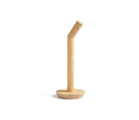 HAY Keukenrolhouder Porter bruin hout ¯13,5x36cm