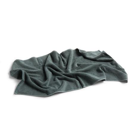 HAY Gastendoekje Frotté groen katoen 100x50cm