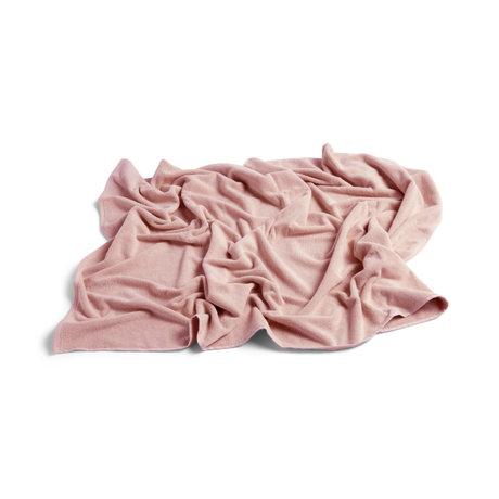 HAY Badhanddoek FrottŽ roze katoen 150x100cm