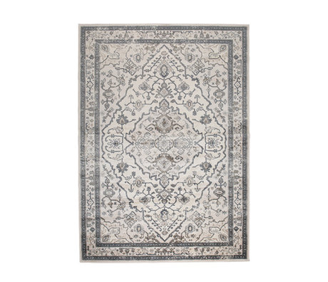 Zuiver Tapis Trijntje Amazing Grey gris textile 170x240cm