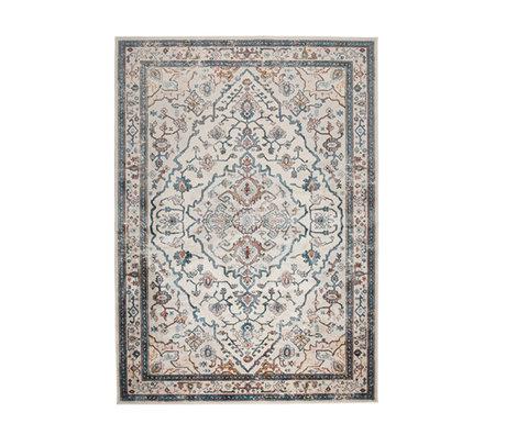 Zuiver Tapis Trijntje Authentic Blue multicolore textile 170x240cm