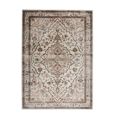 Zuiver Teppich Trijntje Rose Olive mehrfarbiges Textil 170x240cm