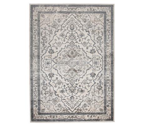 Zuiver Tapis Trijntje Amazing Grey gris textile 200x300cm