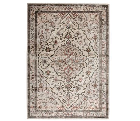 Zuiver Tapis Trijntje Rose Olive textile multicolore 200x300cm