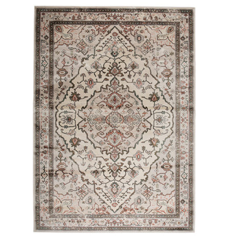 Zuiver Rug Trijntje Rose Olive multicolour textile 200x300cm
