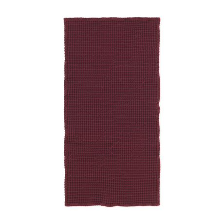 Ferm Living Guest towel Organic Cinnamon brown cotton 50x100cm