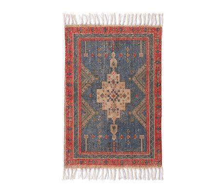 HK-living Badmat Overtufted multicolour textiel 60x90cm