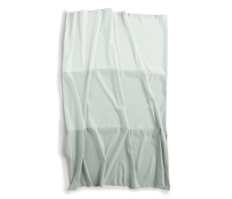 HAY Douchegordijn Aquarelle Horizontal mintgroen polyester 200x180cm
