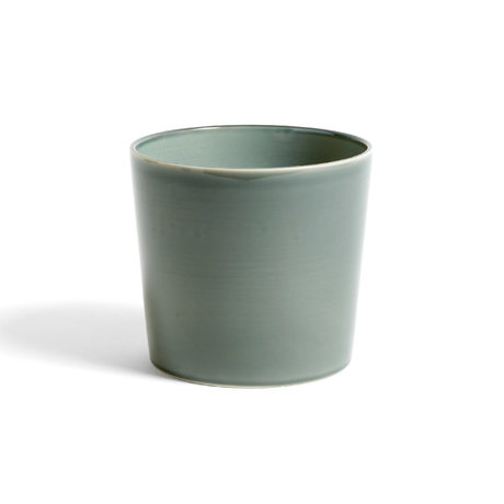 HAY Bloempot Botanical L groen keramiek ¯18x16cm