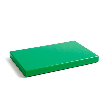 HAY Snijplank Rectangular M groen kunststof 30x20x2,5cm