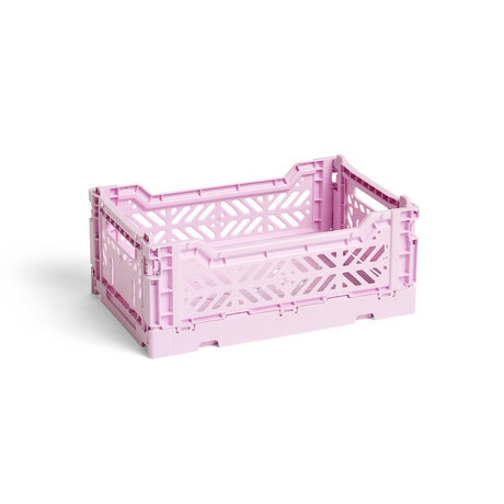 HAY Krat Colour Crate S lila kunststof 26,5x17x10,5cm