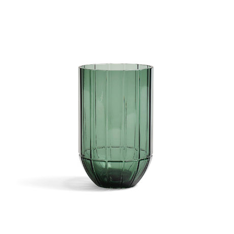 HAY Vaas Colour M groen glas Ø9,5x15cm