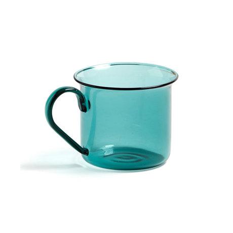 HAY Kopje Borosilicate 200ml aquagroen glas ¯8x6,5cm